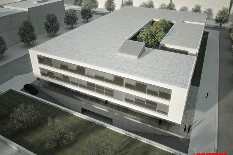 """Concurso para Edificio empresarial """"Nicola Tesla Iparque"""""""
